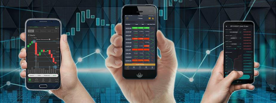 What are the benefits of brokerage that facilitate mobile app?