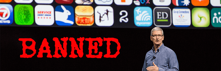 Binary Trading Apps Banned From Apple's App Store