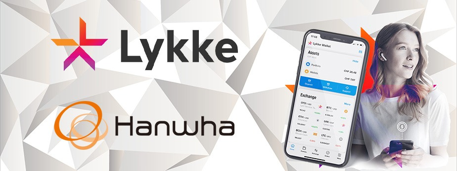 Lykke And Hanwha Partner to Enhance Blockchain Solutions