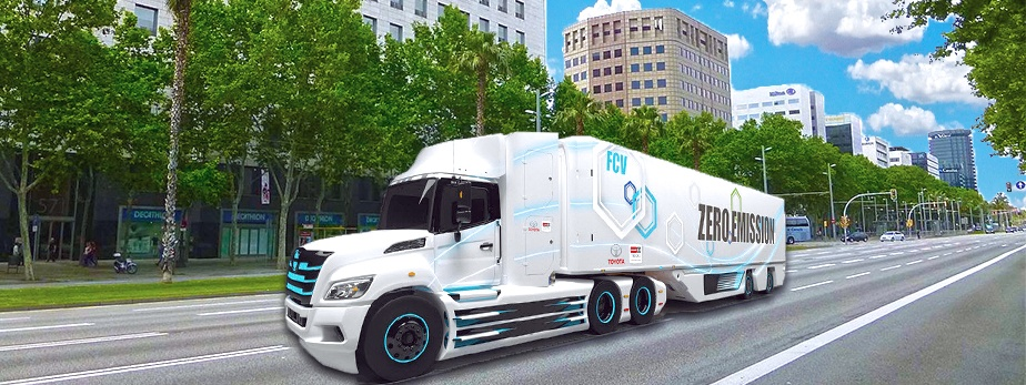 Toyota to Develop Electric Heavy Trucks in North America