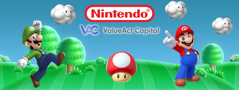 ValueAct Builds up a $1.1B Stake in Nintendo; Says: Next Netflix And Disney+