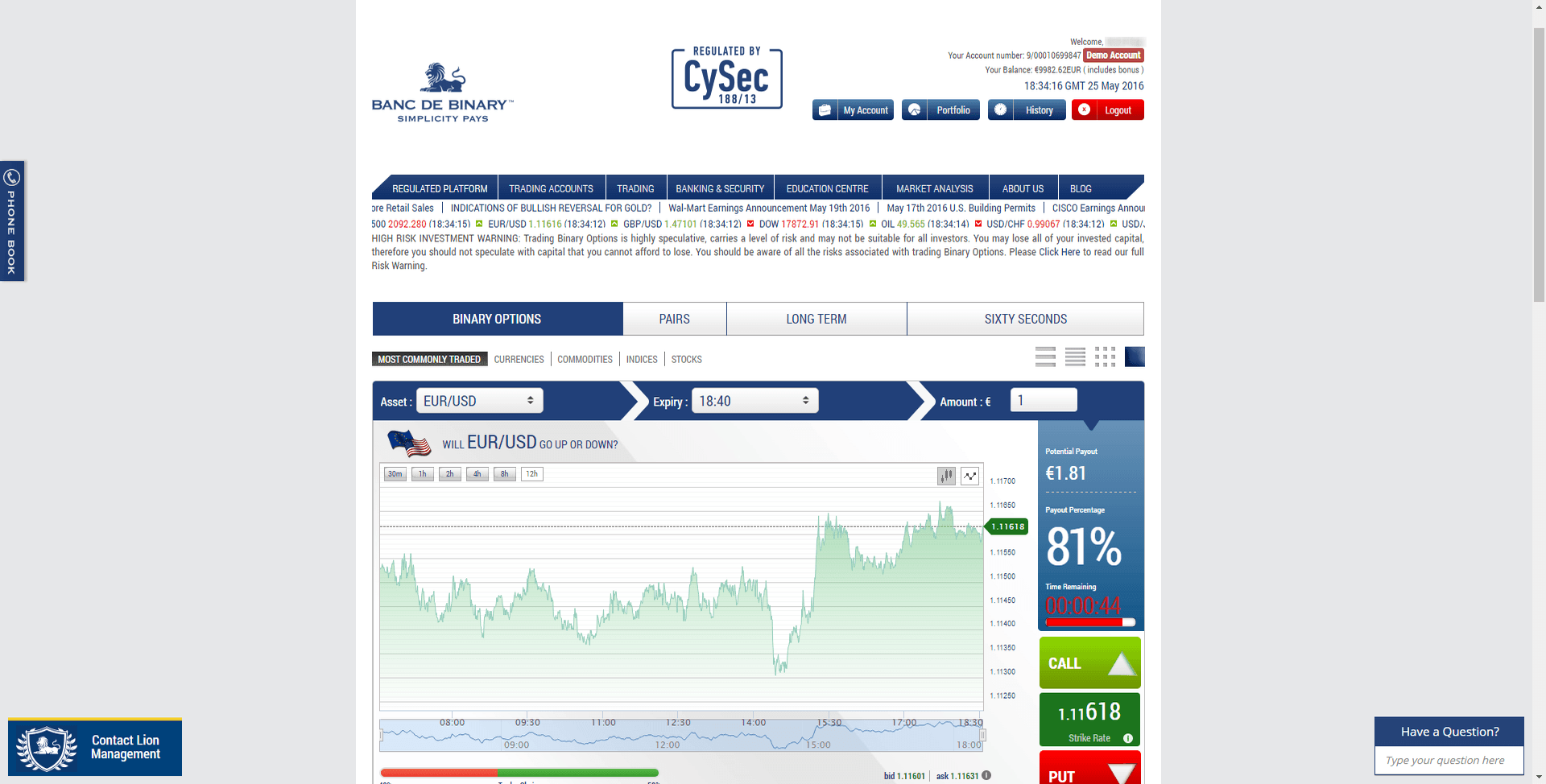 Binary options trading courses course