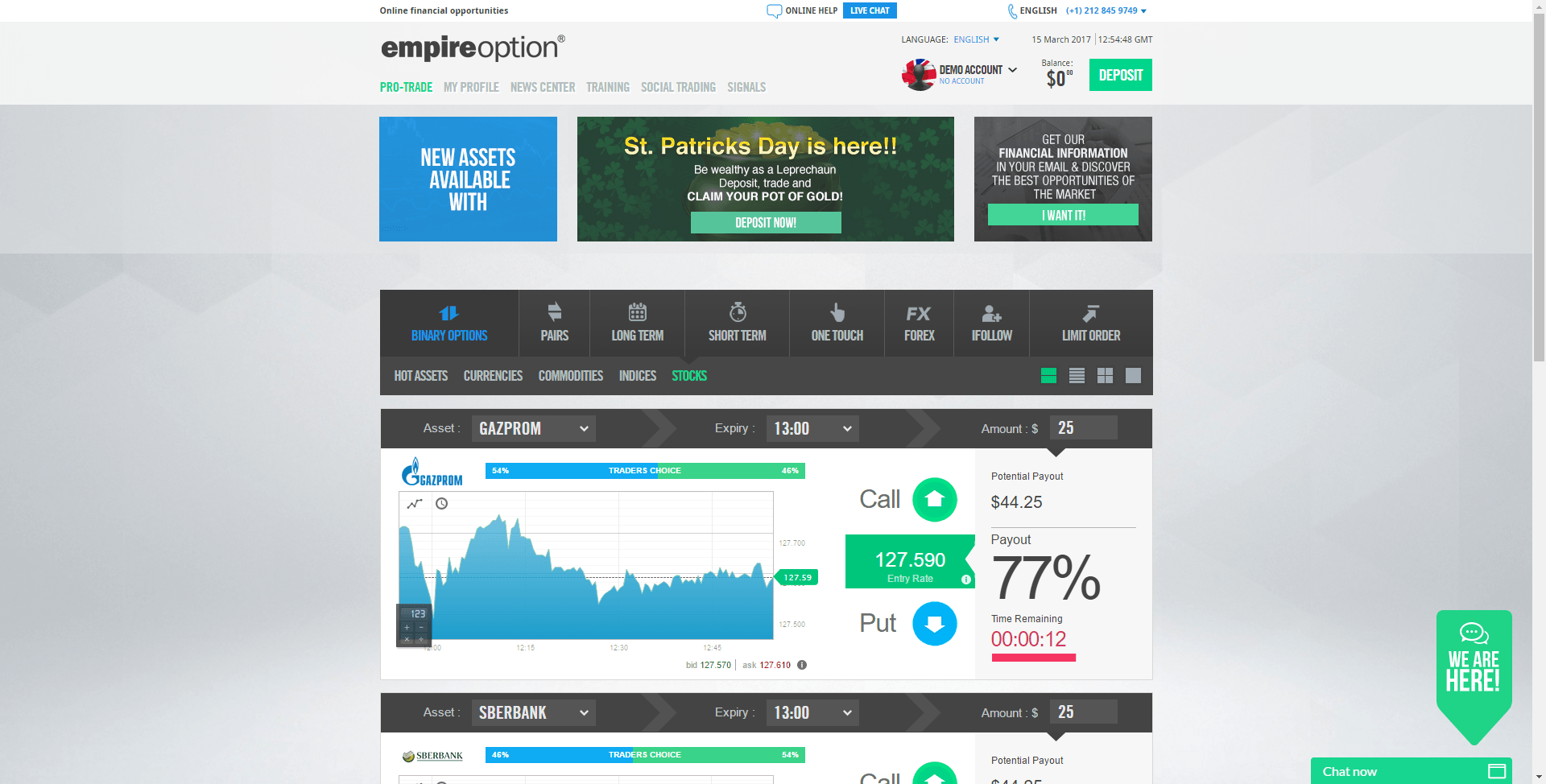 Binary options xposed