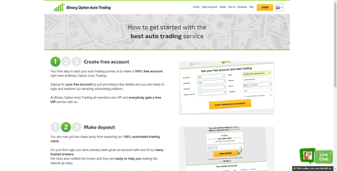 BinaryOptionAutoTrading Screenshot