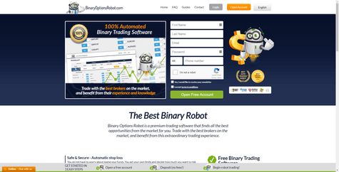 BinaryOptionsRobot.com Screenshot