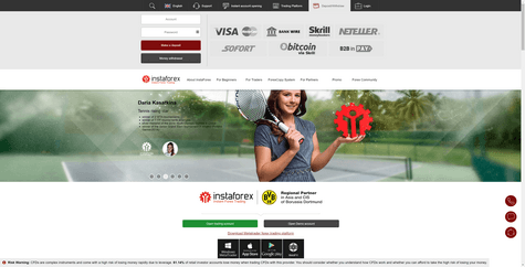 InstaForex Screenshot